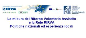 La misura del Ritorno Volontario Assistito e la Rete RIRVA