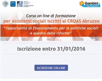 Opportunit� di finanziamento per le politiche sociali e quadro delle riforme