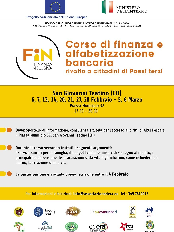 Corso di finanza e alfabetizzazione bancaria