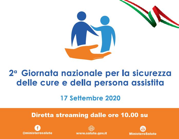 2° Giornata nazionale per la sicurezza delle cure e della persona assistita