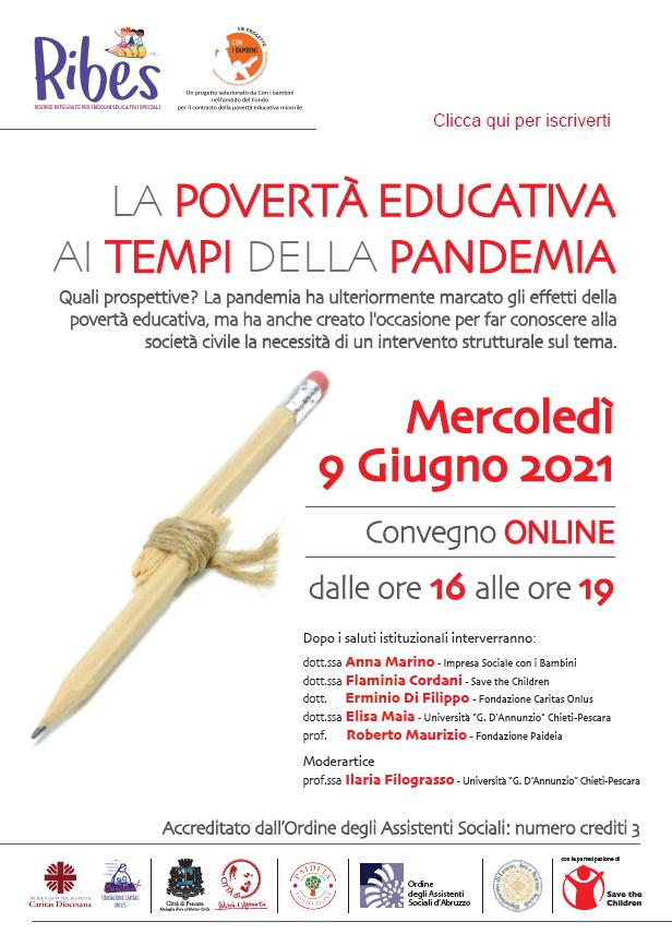 La povert� educativa ai tempi della pandemia